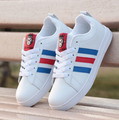 Spring and summer sport casual shoes white women sandals, casual shoes for women's shoes big white shoe tourism yards 35-44