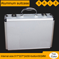 box aluminium tool case magic props file storage Hard carrying box Hand Gun case Locking Pistol with foam 33*24*9.5CM