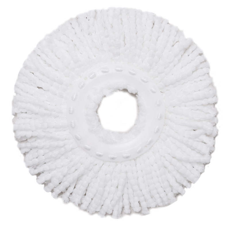 New Arrival !!! 4pcs Replacement Microfiber MopHead Refill for Hurricane rotating 360 degree Spin Magic mop Head quickie back drainer sponge mop refill