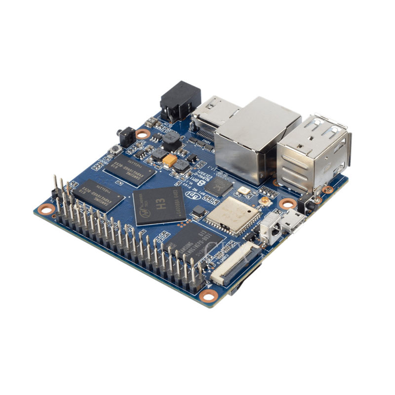 MiNi BPI-M2+plus Banana Pi M2+plus H3 Quad-Core 1GB RAM 8GB eMMC BPI M2+plus WiFi&Bluetooth demo board Single Board Computer SBC banana pi bpi uno32 board