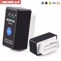 Mini ELM327 EML327 V1 5 OBD2 OBD Bluetooth Adapter Car Diagnostics Scan Tool For Android Black