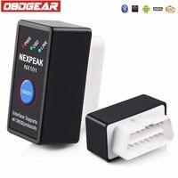 Mini ELM327 EML327 V1 5 OBD2 OBD Bluetooth Adapter Car Diagnostics Scan Tool For Android Black