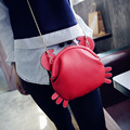 New Arrival Women 3D Crab Messenger Bag Fashion Designer Ladies Lolita Shoulder Bag Handbag Cartoon Day Clutch Purse Satchel