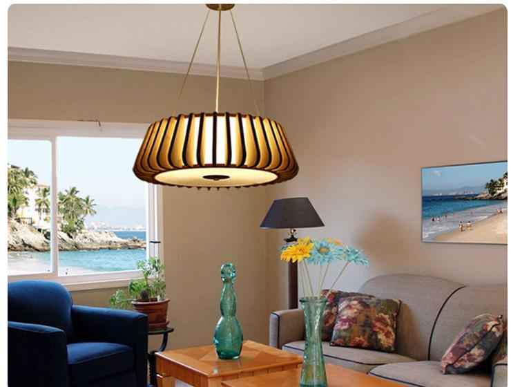 Kreative Restaurant Mahlzeit Lampe Wohnzimmer Scheinwerfer Lampen Nordic Atmosphre Japanischen Bambus Kronleuchter Schlafzimmer Chandel