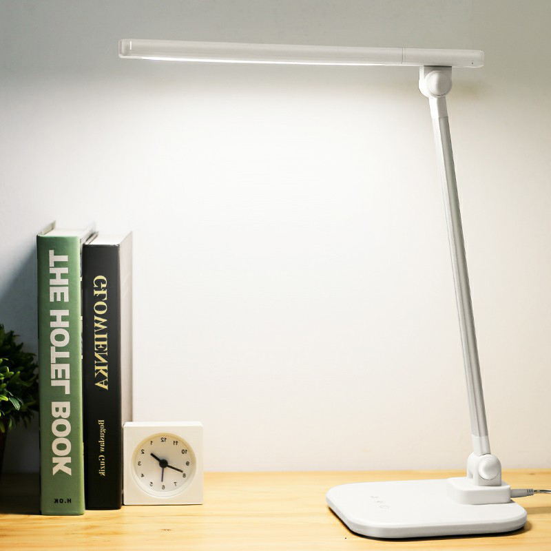 Modern minimalist led desk lamps dimming touch folding eye protection table lamps for children bedroom student learning study