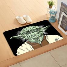 K&!155 Custom Star Wars Yoda #n Doormat Home Decor Door mat Floor Mat Bath Mats foot pad J-725F155et