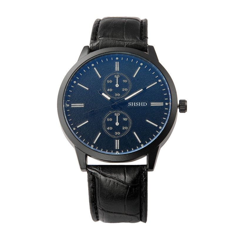 Large dial, Korean Neutral Trend Blu ray glass, womens fashion belts, mens watches, student lovers, quartz watches. H0022