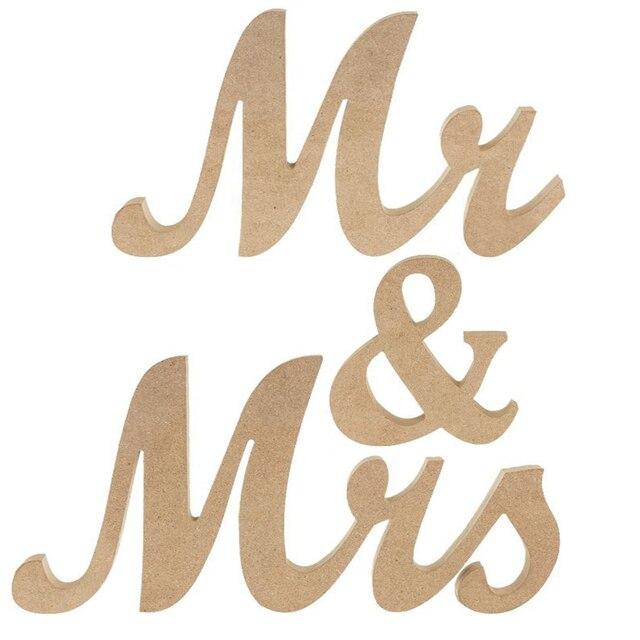 wooden wedding props mr and mrs letters wedding alphabet wedding