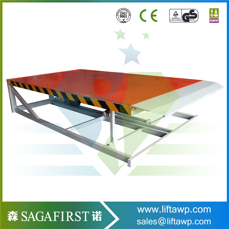 Cheap Hydraulic Dock Ramp For Loading/Unloading Cargo