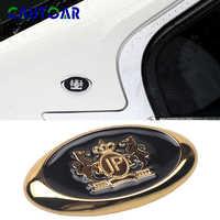 Auto Styling 3D Metall VIP JP Aufkleber Junction Produzieren Emblem Abzeichen Abziehbilder Personalisierte Dekoration Goldene/Silber Auto Aufkleber