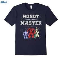 GILDAN Robot Master Robotics Engineering Programming STREAM Shirt(China)