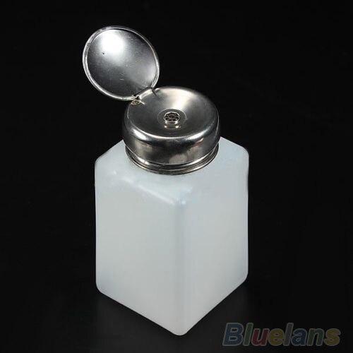 1 unidad 200ML bomba vacía dispensador de prensa de Alcohol líquido removedor de esmalte de uñas botella de maquillaje herramientas de contenedor recargables 5 uds 3,5 MM Clip de plástico negro en EMI RFI Filtro de núcleo de ferrita de Cable de supresores de ruido extraíble
