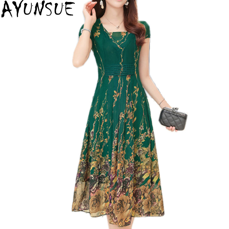 280a94752ac Robe Floral Summer Dress Women 2018 Summer Chiffon Dresses Robe Femme ete  Ladies Dresses Plus Size ...