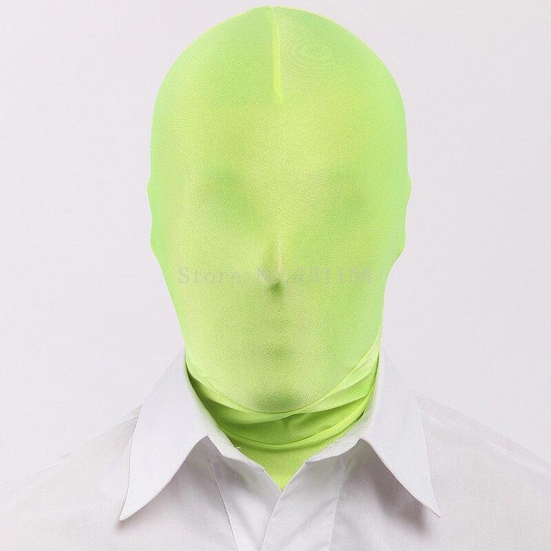 Хэллоуин фантастический Одноцветный унисекс лайкра спандекс капюшоны - Цвет: As Picture