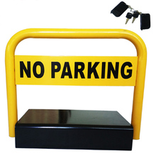 Outdoor Used Water Proof Remote Control Battery Powered Automatic Parking Barrier lock parking space saver