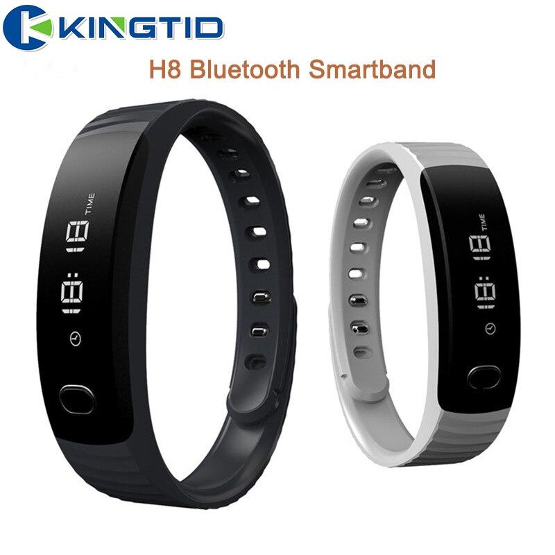def6e5362dc H8 banda inteligente pulseira bluetooth pedômetro de fitness rastreador  câmera pulseira smartband remoto para ios android pk mi banda 2