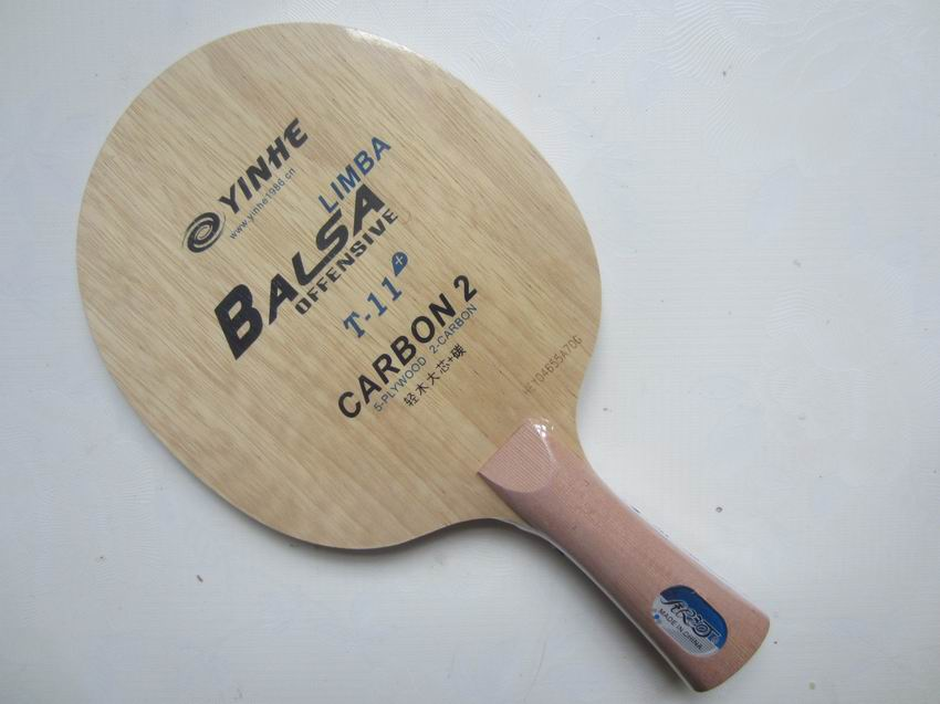 Original Galaxy Yinhe T-11 bordtennisblad mycket lätt snabb attack med slinga bordtennis racket racquet sport pingpong
