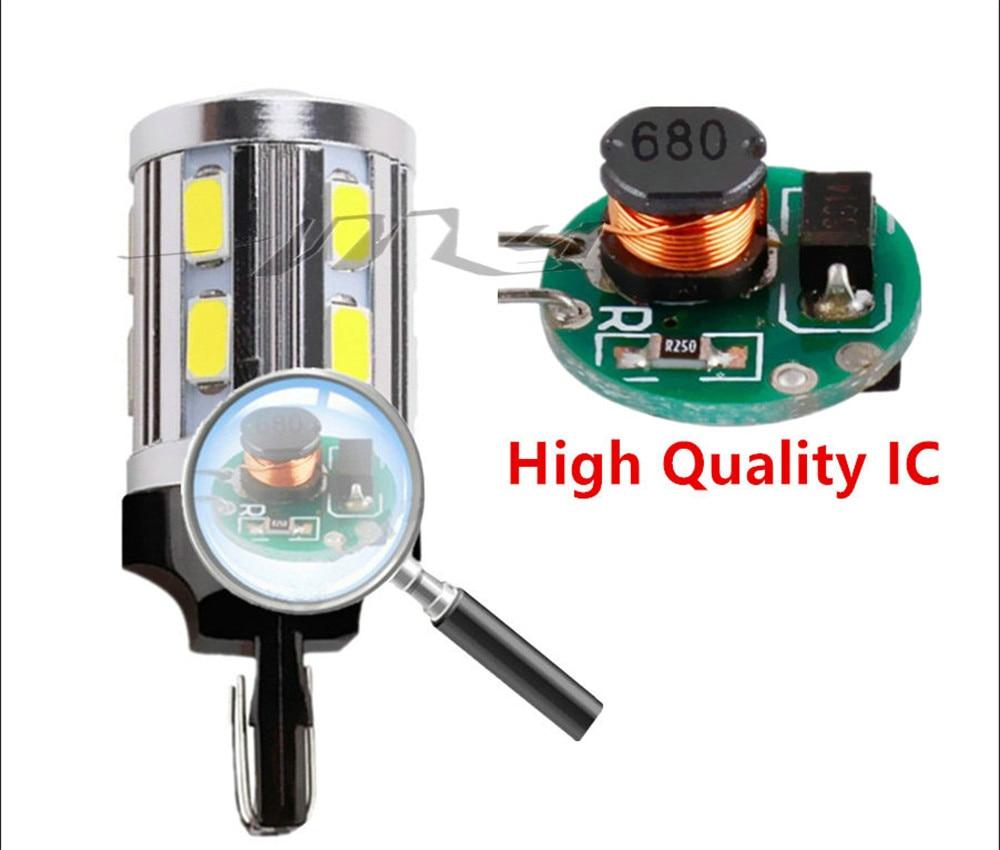 7443 7440 LED žarulje za automobile 12 SMD 5730 Xenon bijele W21 / - Svjetla automobila - Foto 4