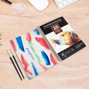 Image 2 - Chuyên Nghiệp Màu Nước Miếng Lót 300gsm 20 Tờ Màu Nước Sketchbook Cho Họa Sĩ Tay Tranh Nghệ Thuật Vẽ Tiếp Liệu