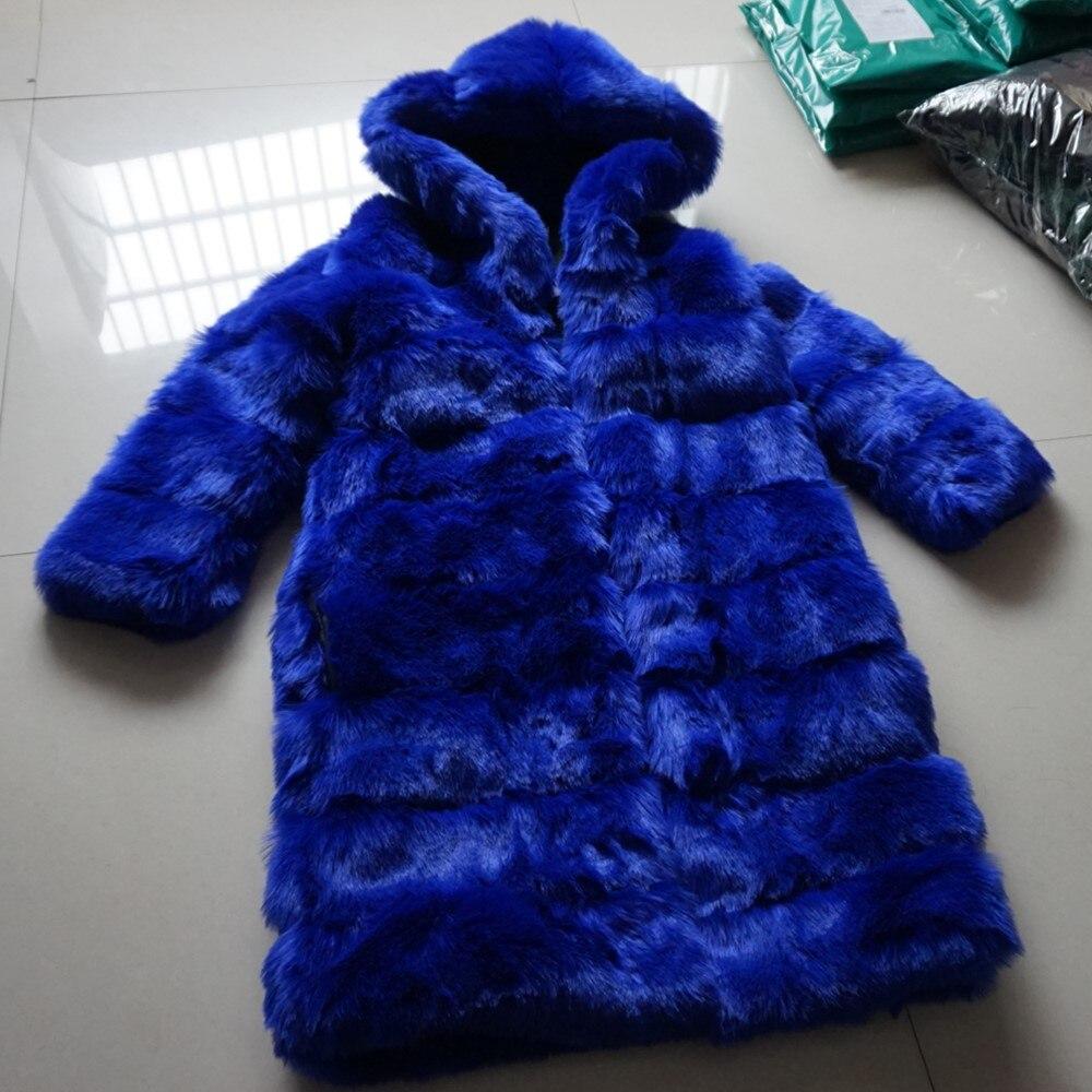 Survêtement Femmes Bleu Vêtements Artificielle Avec De Thermique Royal Hoodies À Faux Capuchon Hiver Chaudes Fourrure Gtgyff Manteau Manteaux Capuche qpORwB7xEn