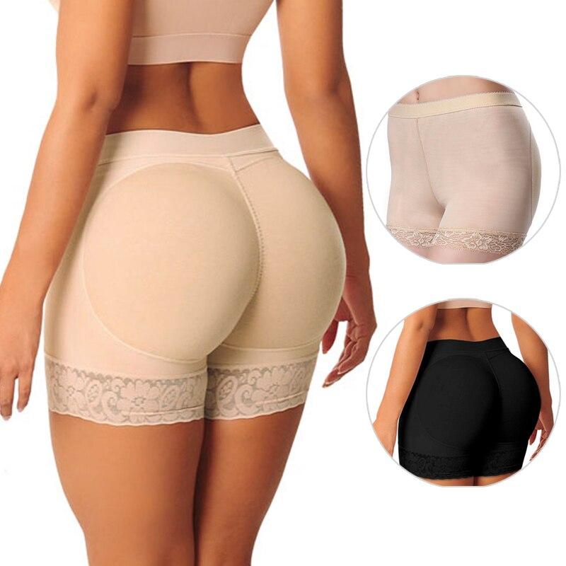Shaper Pant Sexy Boyshort Push Up Pad Panties Women Fake Ass Underwear Fake Butt Pad Buttock Shaper Butt Lifter Hip Enhancer