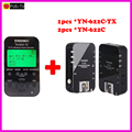 Yongnuo YN-622C-TX + YN-622C RX E-TTL LCD Wireless Flash Controller Wireless Flash Trigger Transceiver For Canon EOS DSLR