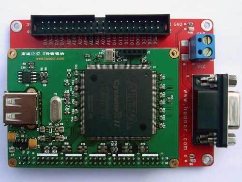 USB-AD-DA development board USB data acquisition and development board