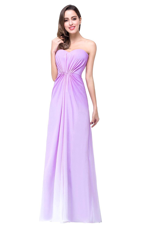 Aliexpress.com : Buy Fashion 2017 Short/Long Chiffon Purple Gradient ...