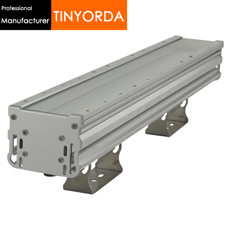 Tinyorda TWH7690 1M <font><b>100W</b></font>-150W Led Wash Wall Light LED Flood Lighting <font><b>Heatsink</b></font> Fits 66mm width PCB [Professional Manufacturer] image