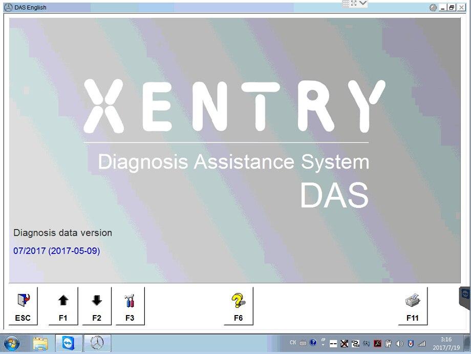 Цена за 2017.07 МБ Star C4 полный Программное обеспечение Win7 Системы включают Xentry/DAS/EPC/WIS/EWA/vediamo /DTS-Monaco установлен в HDD компанией DHL Бесплатная доставка
