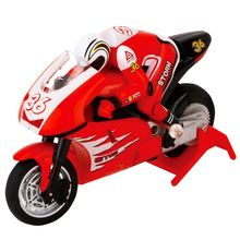 2.4G 3CH 1/20 Scale Mini RC Motorcycle Remote Control Electronic Toy Christmas Children Kids Gift hot 3310b 3ch rc shark durable fish boat submarine mini radio remote control electronic toy kids birthday gift for children