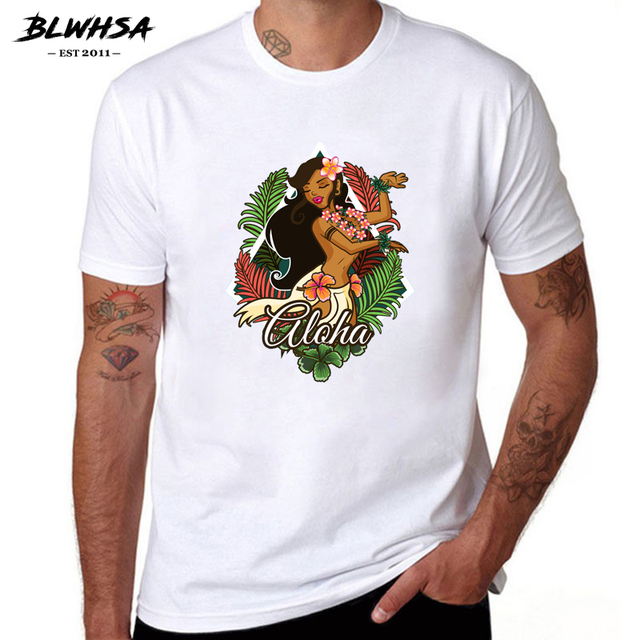 BLWHSA Brazilian Style Dancing Girl Design T-Shirts Men Personalized Custom  Tee New Summer Short Sleeve Fitness Cotton T Shirt