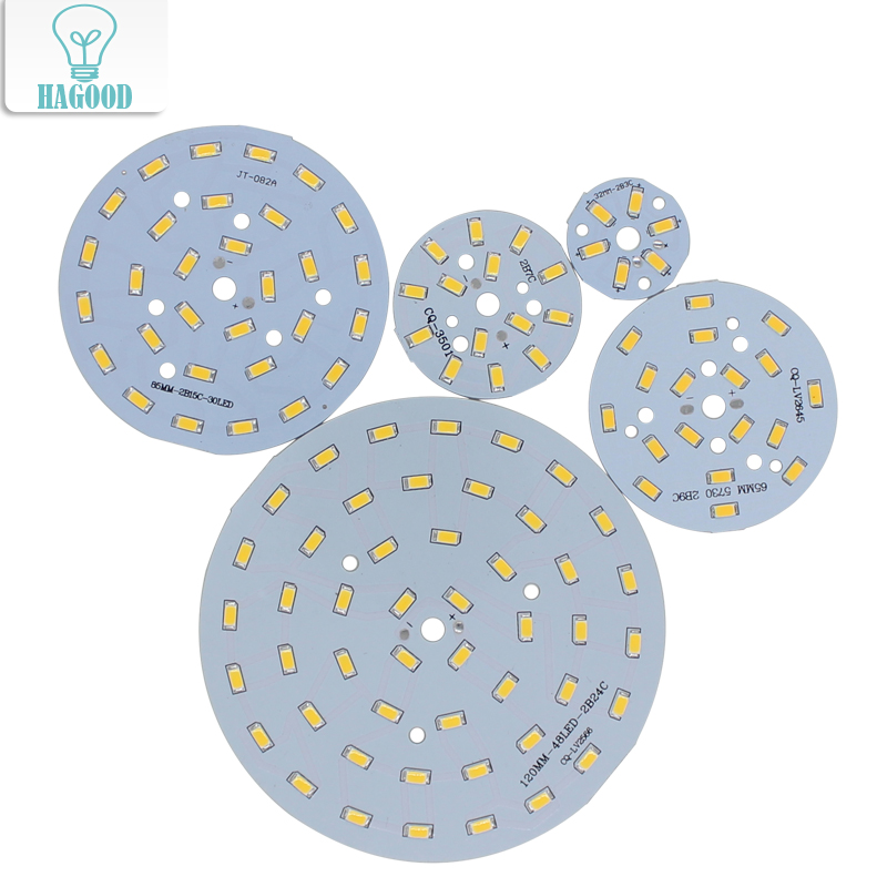 10 Pcs 3W 5W 7W 9W 12W 15W 18W 24W 5730/5630 Brightness SMD Light  Board LED Lamp Panel For Ceiling PCB With LED