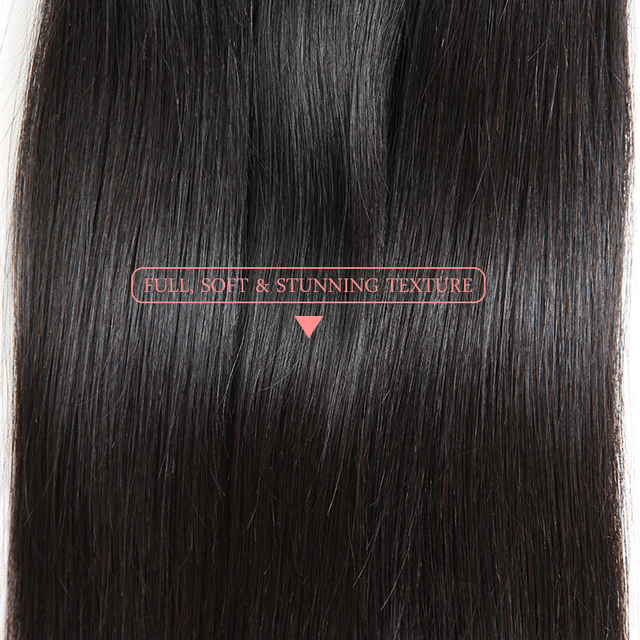 Brazilian Virgin Hair Weave Straight Human Hair Bundles  3pcs Lot