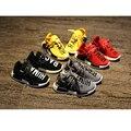 Супер shoes для детей повседневная кроссовки резиновые плоские малыша обувь удобные мальчики и девочки тренер обуви спортивной 2017 весной новый