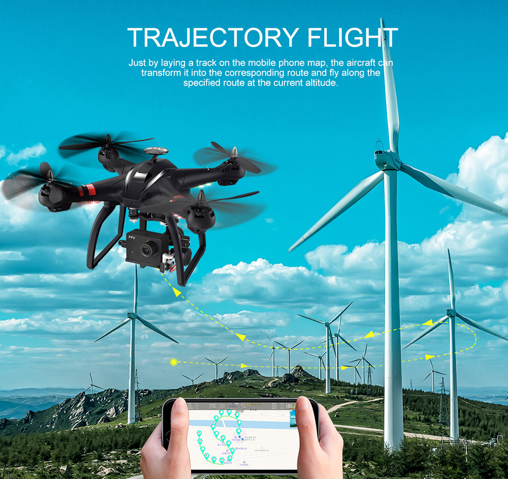 BAYANGTOYS X22 RC Quadcopter Drones Dual GPS WiFi FPV Brushless Follow Me Helicopters Racing Remote Control RC Drone Dron Toys 8