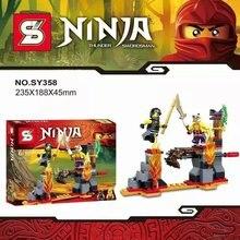 Action Figures Bricks Toys Set The phantom Ninja Minifigures Model Building Blocks