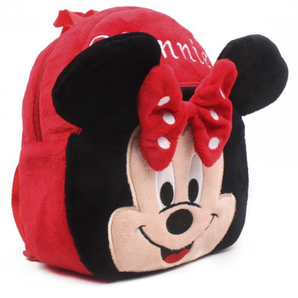 Cute-Cartoon-Baby-Minnie-School-Bag-toys-Plush-Children-Mini-Backpacks-For-Kindergarten-Boy-Girl-Shoolbag-2