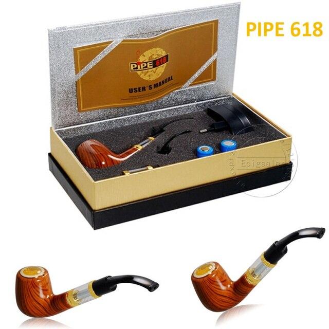 E труба 618 труба электронный сигареты комплект серии - старомодный пара E курение труба стиль электронный курение