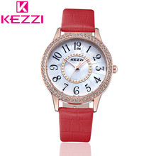 KEZZI K1181 Marque De Mode Femmes Montre-Bracelet Dames De Luxe Casual Quartz Montre Relogio Feminino Cadeau KZ86