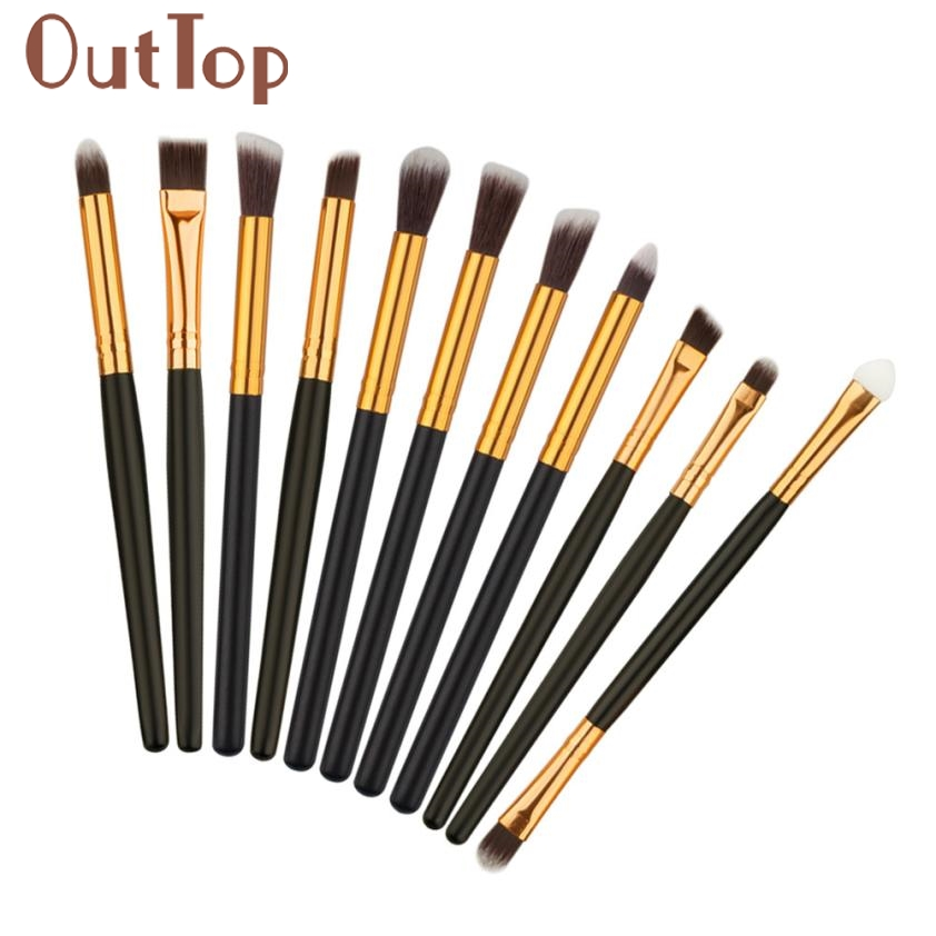 11 unids de Cepillo Del Maquillaje herramientas maquillaje Kit del artículo de T