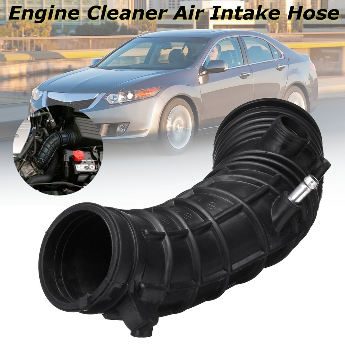 Car Auto Engine Rubber Cleaner Air Intake Hose For Acura TSX 2004 2005 2006 2007 2008 AIH551078H