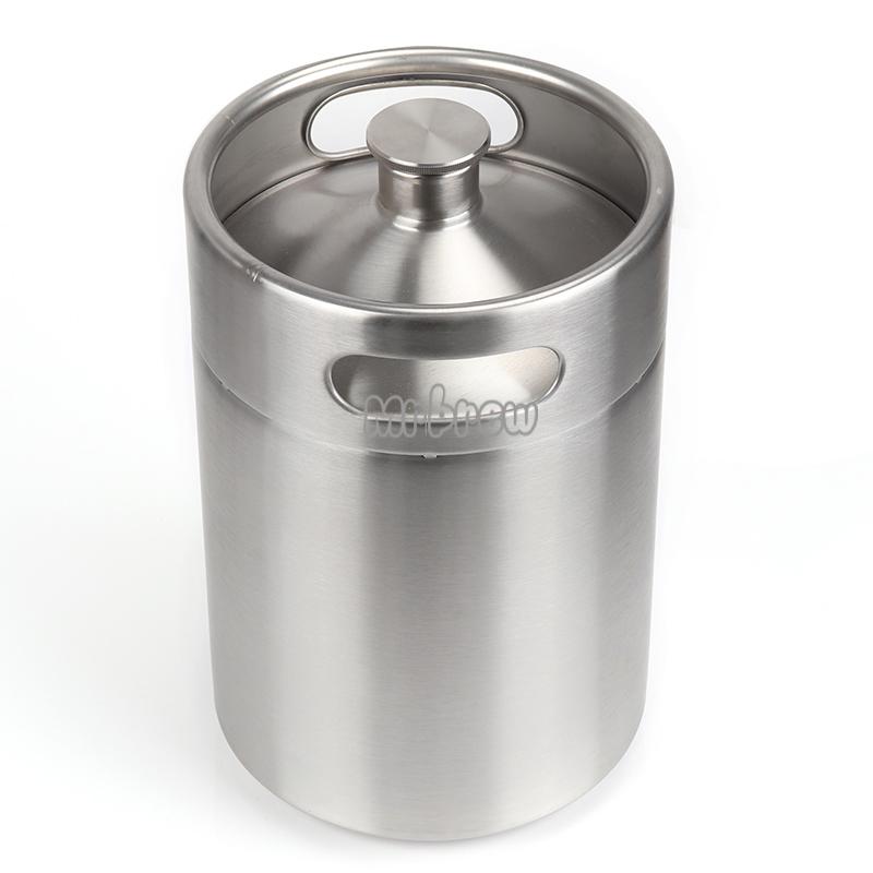 Stainless Steel Beer Mini Keg Set 9