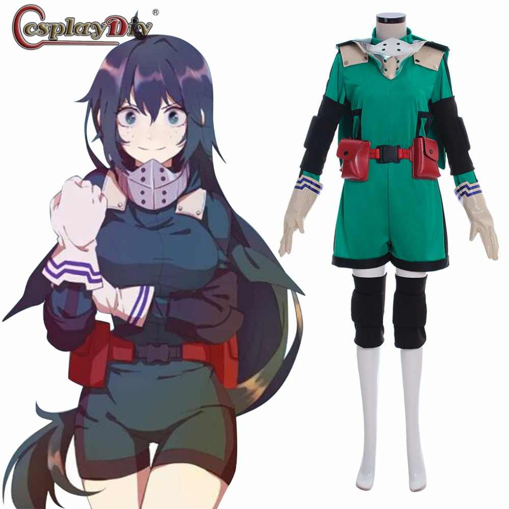 Cosplaydiy Boku No Hero Akademia Cosplay My Hero Academia Izuku Midoriya Girls Costume Deku Battle Halloween Carnival Clothes