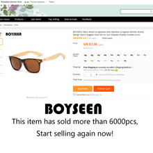 BOYSEEN Retro Wood Sunglasses Men Bamboo Sunglass Women Brand Design Sport Goggles Gold Mirror Sun Glasses Shades lunette oculo