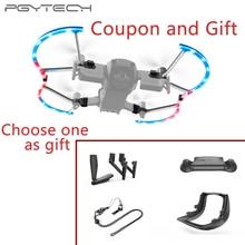 лучшая цена PGYTECH For Mavic Air LED Propeller Guard with Colorful Lighting Mode Protective Propeller Drone DJI Mavic Air Accessory