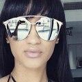 Venda 2017 new óculos de sol reflexivos binful cool fashion óculos de sol da marca revestimento das mulheres designer de marca óculos de sol óculos de sol da senhora