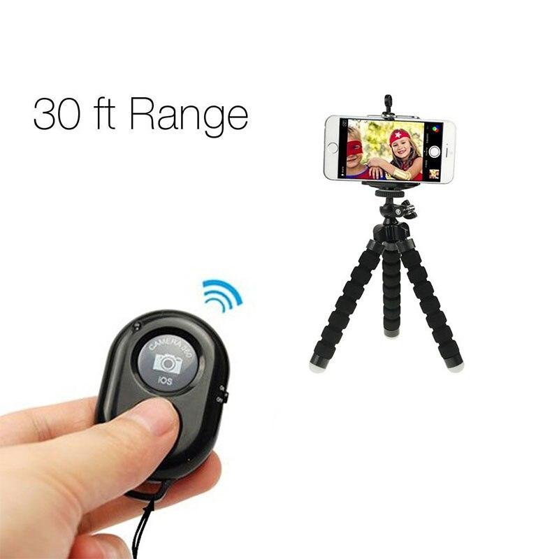 Умный Bluetooth пульт дистанционного управления затвора камеры для IPhone для Samsung Huawei Xiaomi смартфон для Ipad 3 в 1 объектив телефона