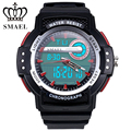 SMAEL Brand Mens Military Rubber Strap Luminous Chronograph Analog Date Back Light Waterproof LCD Clock Wrist Watch / WCH0045