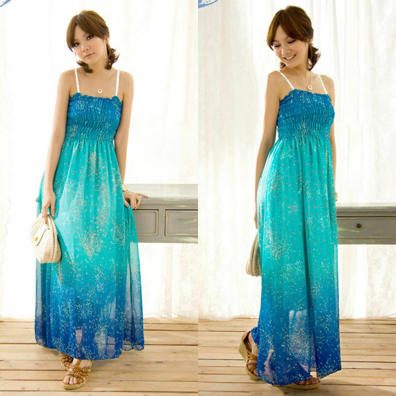 Women Floral Long Dress